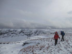 Snow on Comeraghs