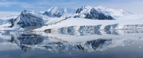 First Place: Reflections  - Errera Channel Antarctica by Helen O'Keeffe - 1ST PLACE