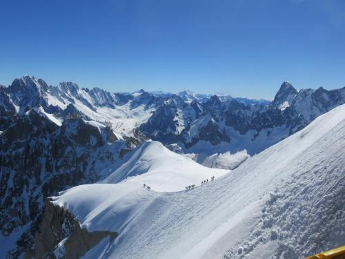 Third Place: Aigulle du Midi, Chamonix, France by John Haberlin - 3RD PLACE